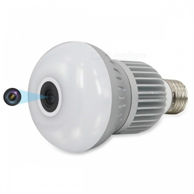 VESKYS 1536P 360 Degree Fish Eye Lens 3.0MP Wireless Wi-Fi Full View lnfrared And White Light IP Camera