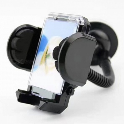 JEDX Universal 360 Degree Rotating Flexible Car Mount Phone Bracket Cradle Holder Stand