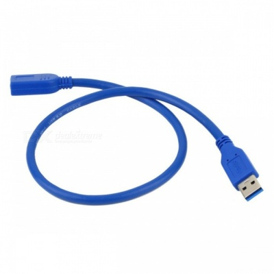 Dayspirit USB3.0 Male to Female Extension Cable, USB 3.0 M/F Connector Adapter - 30cm