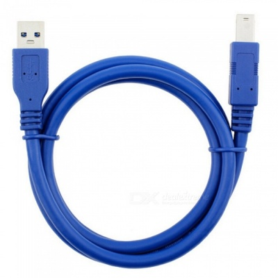 Dayspirit USB 3.0 A Male AM to USB 3.0 B Type Male BM Cable - 1.5m