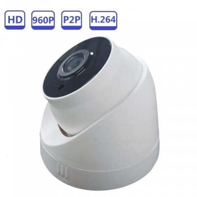 Strongshine 960P Pan/Tilt Full HD Dome Wi-Fi IP Camera, Support ONVIF - White