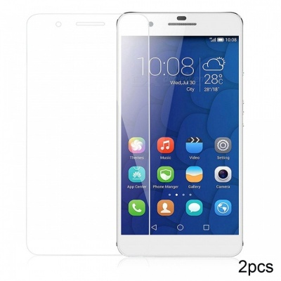 Naxtop Tempered Glass Screen Protector for Huawei Honor 6 Plus - Transparent (2PCS)