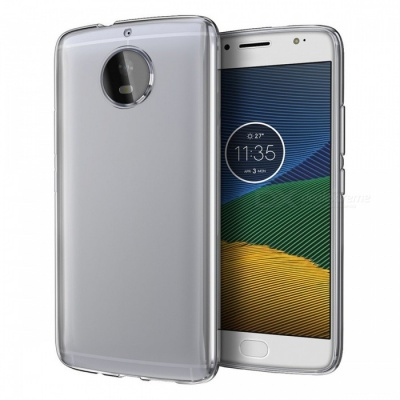 Naxtop TPU Ultra-thin Soft Case for Moto G5S - Transparent