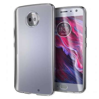 Naxtop TPU Ultra-thin Soft Case for Moto X4 - Transparent