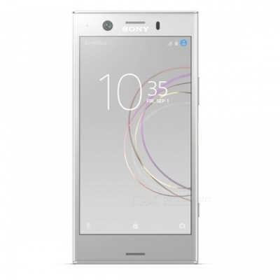 Sony G8441 Xperia XZ1 Compact Mobile Phone with 4GB RAM, 32GB ROM - Silver