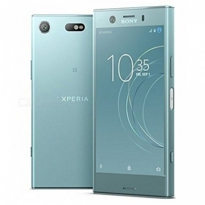 Sony G8441 Xperia XZ1 Compact Mobile Phone with 4GB RAM, 32GB ROM - Blue