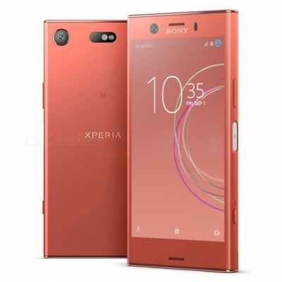 Sony G8441 Xperia XZ1 Compact Mobile Phone with 4GB RAM, 32GB ROM - Pink