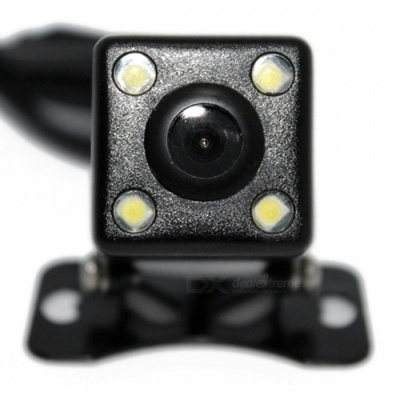 ZHAOYAO Mini CCD High-Definition Car Reversing Rearview Camera with Infrared LED Lights