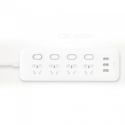 New Xiaomi Mijia Smart Power Strip w/ 4 Sockets, 4 Individual Control - White