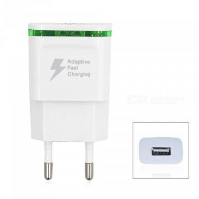 5V 2A Quick Charge EU Plug USB Charger Power Adapter USB AC Charger - White