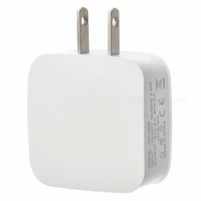 5V 3A QC 3.0 Quick Charge USB AC Charger Wall Charger - White (US Plug)