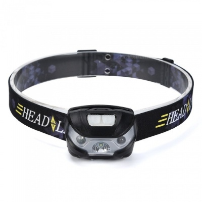 SPO Super Bright Sensor Induction Long-Range Headlamp for Outdoor Camping, Fishing, Hunting, Etc