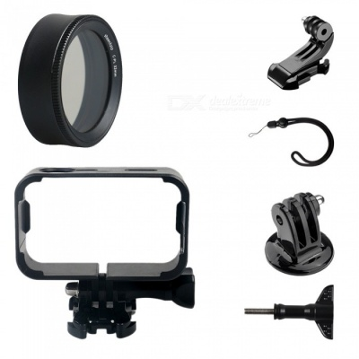 CPL Protective Lens Cover + Camera Frame + J Type Base + Strap + Other Parts for Xiaomi MiJia Camera