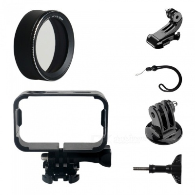 MC-CPL Protective Lens Cover + Camera Frame + J Type Base + Strap + Other Parts for Xiaomi MiJia Camera