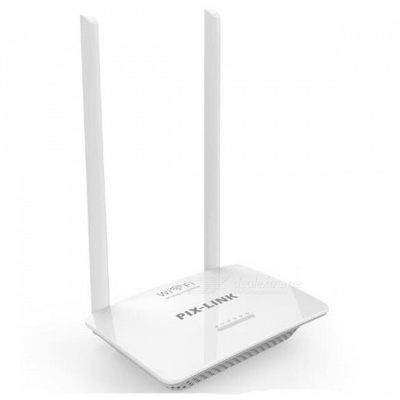 WR07 300Mbps High Speed Smart Wireless Wi-Fi Router ISP Network with High Power 5dBi Fixed Omni Directional Antenna