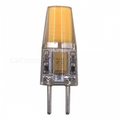 ZHAOYAO GY6.35 5W AC/DC 12V COB Silicone LED Light - Warm White