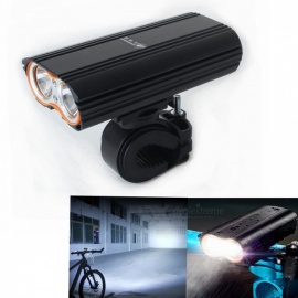ZHISHUNJIA LR-Y2 1400lm 4-Mode LED Flashlight Headlamp, USB Rechargeable Bicycle Lamp