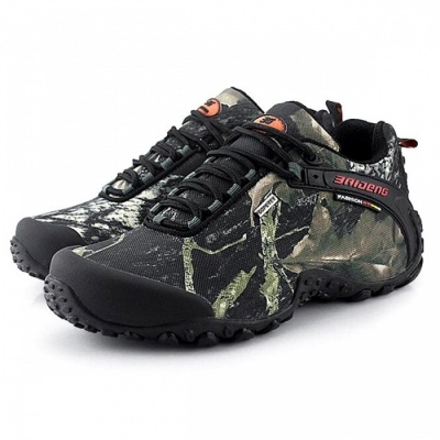 CTSmart 8068 Multifunctional Outdoor Camouflage Men's Hiking Shoes - Gray (40)