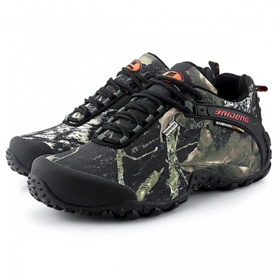 CTSmart 8068 Multifunctional Outdoor Camouflage Men's Hiking Shoes - Gray (42)