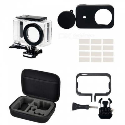 Waterproof Camera Shell + Frame + Silicone Case + Other Parts for Xiaomi MiJia Camera