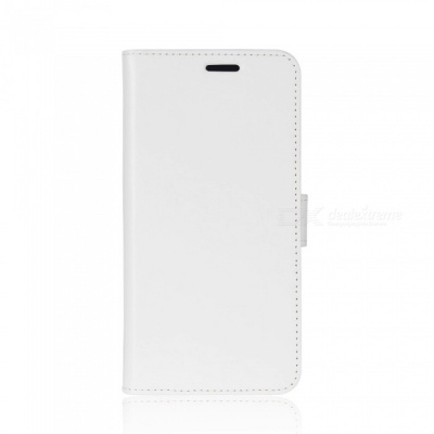 Protective PU Leather Case for IPHONE X - White