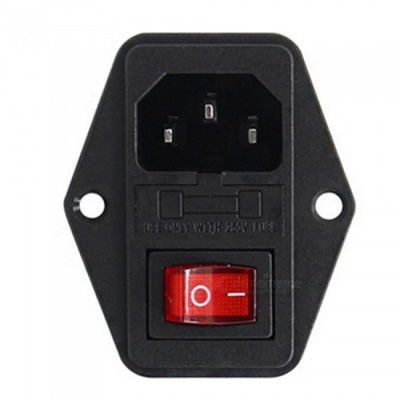 ZHAOYAO 5Pcs Mini 10A 220V / 110V Current Power Switch Button AC Parts for Makerbot Ultimaker