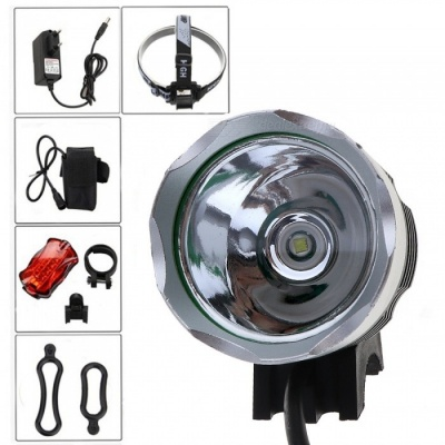AIBBER TONE Waterpoof 1200LM XM-L T6 LED USB Charging Bicycle Front Light Headlamp for Cycling