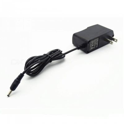 12V 1A Power Adapter with 3.5mm Interface - Black (US Plug)