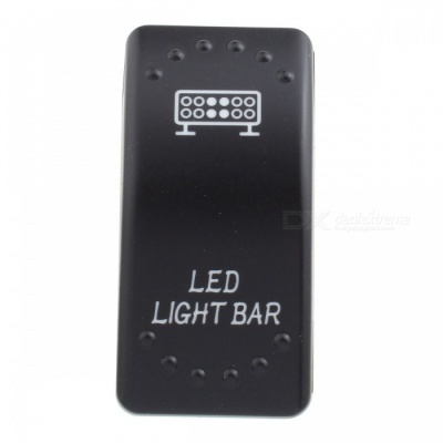 MZ Light Bar Pattern 5Pin Refit Rocker Switch for LED Work Lamp, On/Off Toggle Switch
