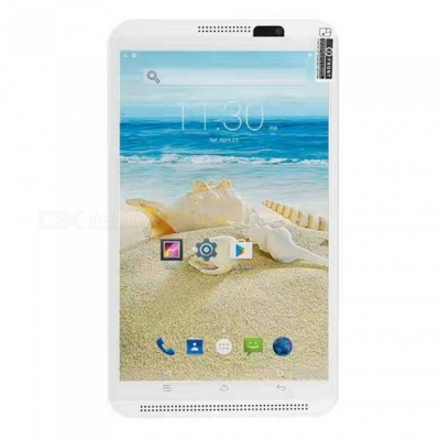 "Binai Mini8 HD 4G Android 6.0 8"" Tablet PC with 2GB RAM, 16GB ROM - White"