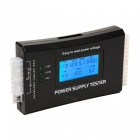 Dayspirit Digital LCD PC Computer Power Supply Tester, 20/24 Pin 4 PSU ATX SATA HDD Tester