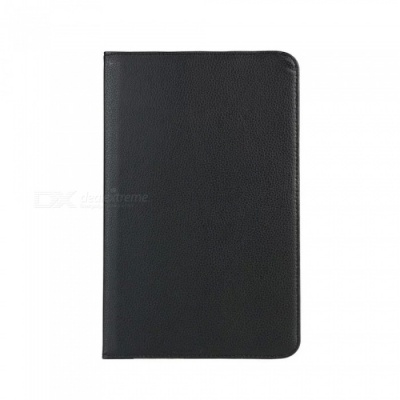 Dayspirit 360 Rotating Leather Case Cover w/ Auto Sleep for LG G Pad 10.1 (V700) - Black