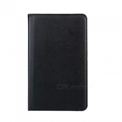 Dayspirit 360 Rotating Leather Case Cover w/ Auto Sleep for LG G Pad 7.0 (V400) - Black