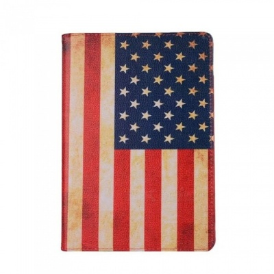 Dayspirit Protective PU US Flag Cover Case for IPAD Pro 10.5 (2017) - Multicolor