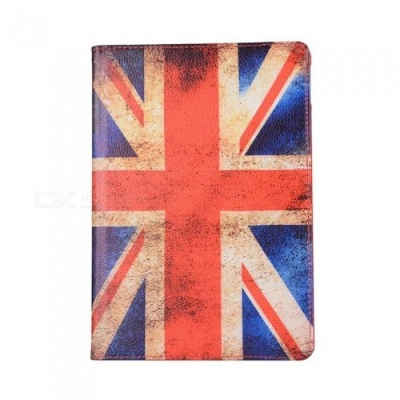 Dayspirit Protective PU Leather UK Flag Cover Case for IPAD Pro 10.5 (2017) - Multicolor