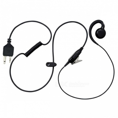 Small Horn Earphone Headphone for Walkie Talkie MIDLAND GXT400 GXT450 GXT500, GXT550