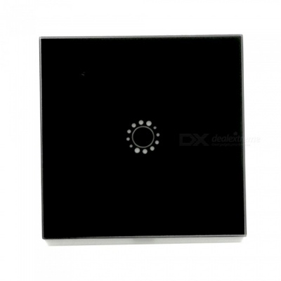 KING-N1 Portable Wi-Fi One-Way Smart Touch Remote Control Switch - Black
