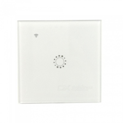 KING-N1 Portable Wi-Fi One-Way Smart Touch Remote Control Switch - White