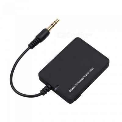 Dayspirit Bluetooth Audio Transmitter Music Dongle with LED / 3.5mm Stereo - Black
