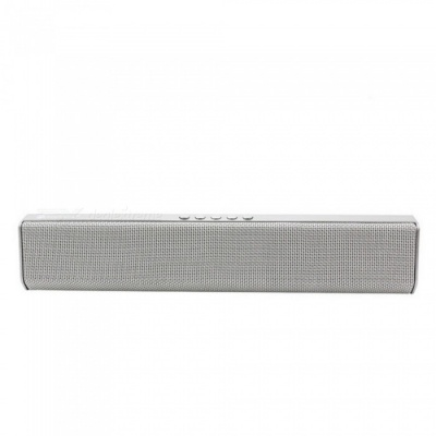 JEDX NR1500 Bluetooth Speaker, Support U Disk / TF Card / Aux-in / FM for IPHONE Samsung Huawei Etc - Grey