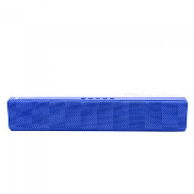 JEDX NR1500 Bluetooth Speaker, Support U Disk / TF Card / Aux-in / FM for IPHONE Samsung Huawei Etc - Blue