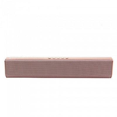 JEDX NR1500 Bluetooth Speaker, Support U Disk / TF Card / Aux-in / FM for IPHONE Samsung Huawei Etc - Pink