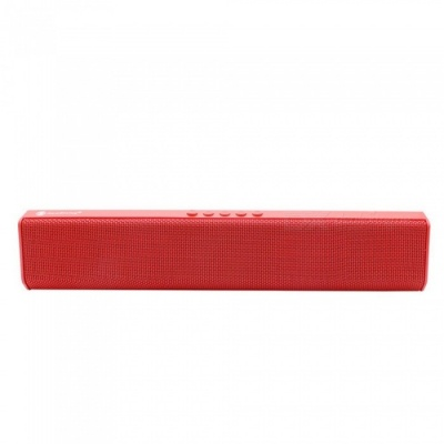 JEDX NR1500 Bluetooth Speaker, Support U Disk / TF Card / Aux-in / FM for IPHONE Samsung Huawei Etc - Red