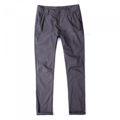 CTSmart 1682 Spring Summer Men's Casual Outdoor Slim Thin Quick-Dry Pants Trousers - Grey (29)