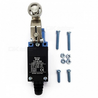 TZ-8104 Revolving Metal Adjustable Roller Level Arm Momentary Limit Switch