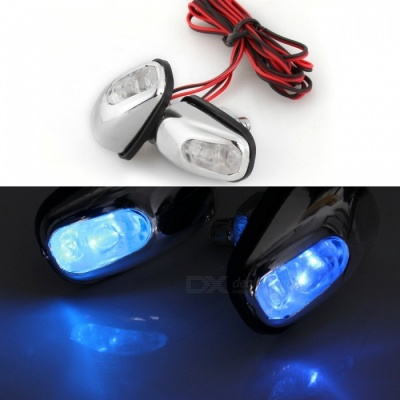 Qook R404 Car Windshield Water Spray Light Blue Light Decoration Lamp