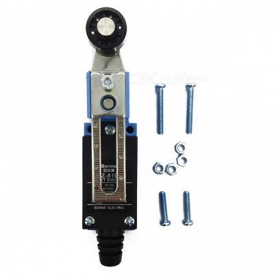 TZ-8108 Adjustable Plastic Roller Lever Arm Limit Switch with NC-NO CNC Mill Route