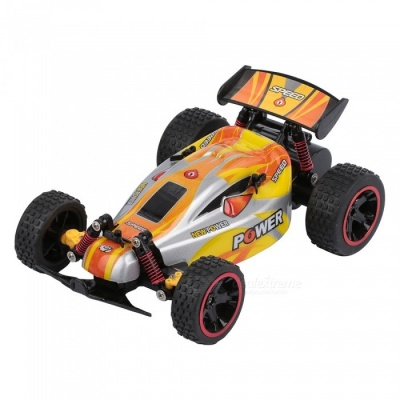 RUI CHUANG QY1801B 1:18 Scale 15KMH 2.4GHz Remote Control Off-road Racing Car - Orange