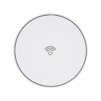 SHINEWOW FC150 Qi Wireless Charging Pad for IPHONE X 8 8 Plus, Samsung Galaxy S7 / S8 / S8+/ S6 Edge - White