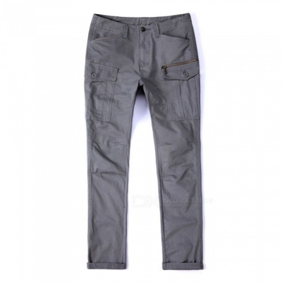 CTSmart 1686 Spring Summer Men's Casual Outdoor Slim Quick-Dry Pants Trousers - Grey (33)